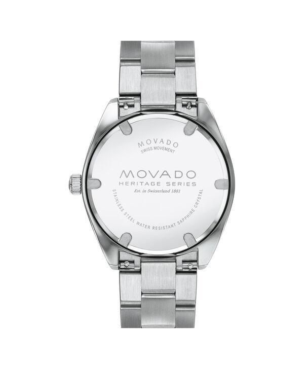 MOVADO Movado Heritage Series3650056 – Men's 39 mm bracelet watch - Back view