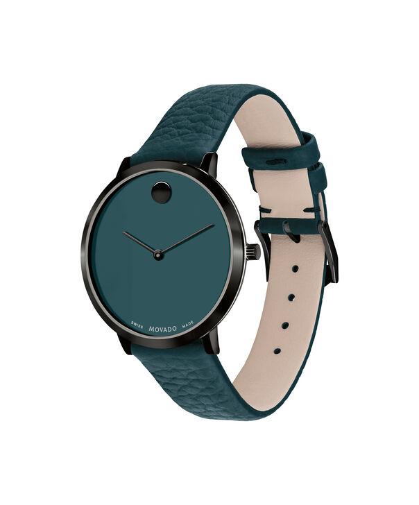 MOVADO Modern 470607342 – NHG 35mm sur bracelet texturé - Side view