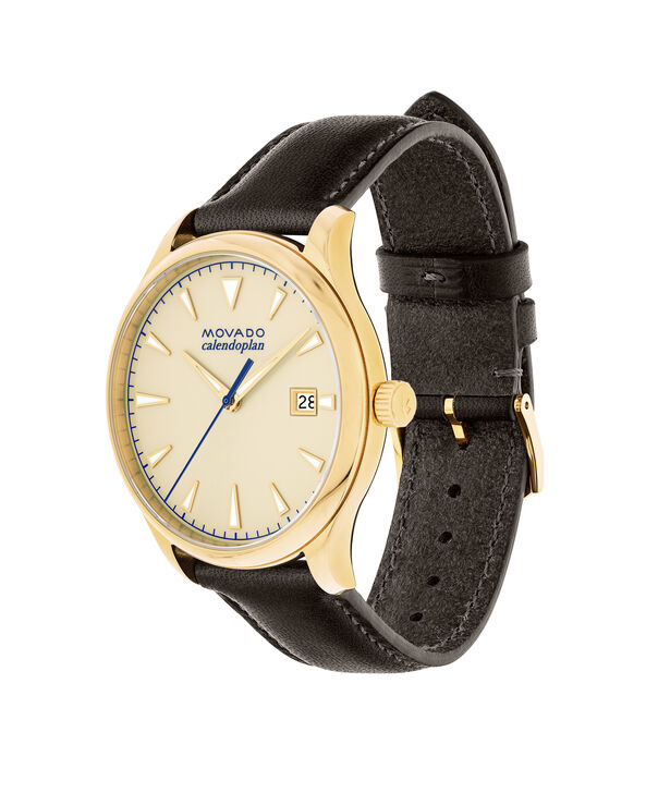 MOVADO Movado Heritage Series3650003 – Men's 40 mm strap watch - Side view