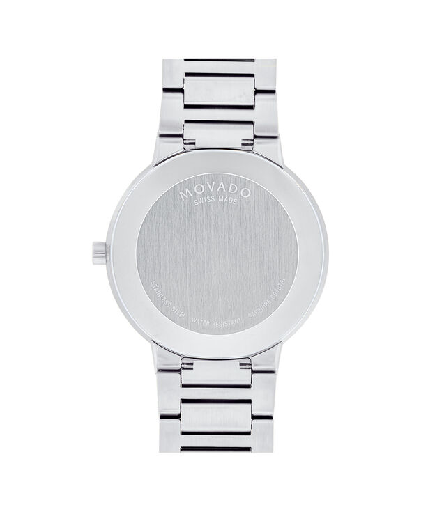 MOVADO Modern Classic0607119 – Men's 39.5 mm bracelet watch - Back view