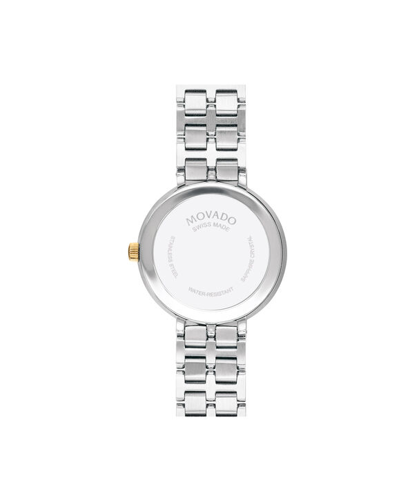 MOVADO Kora0607323 – 28mm Kora on Bracelet - Back view