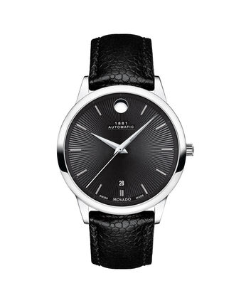 MOVADO 1881 Automatic0607453 – 1881 Automatic 39mm, brac. souple - Front view