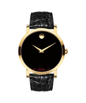MOVADO Red Label0607007 – Montre automatique de 42 mm pour hommes - Front view