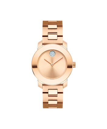 MOVADO Movado BOLD3600550 – 30 mm Metals bracelet watch - Front view