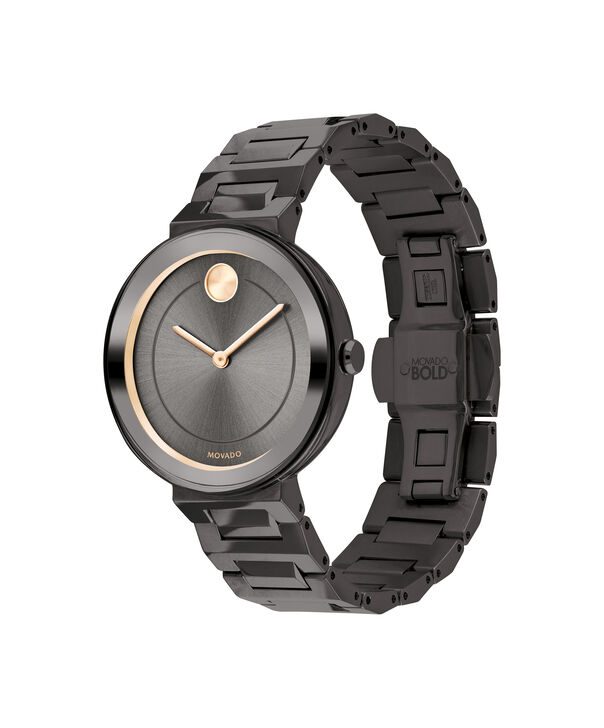 MOVADO Movado BOLD3600500 – 34 mm Metals bracelet watch - Side view