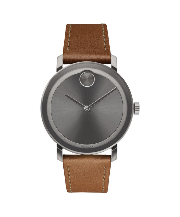 MOVADO Movado BOLD3600506 – Men's 40 mm strap watch - Front view