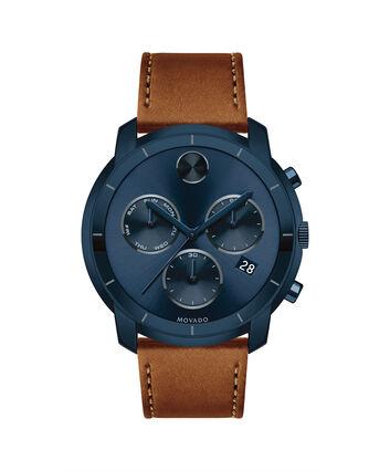 MOVADO Movado BOLD3600476 – Montre de 44 à bracelet souple pour hommes - Front view
