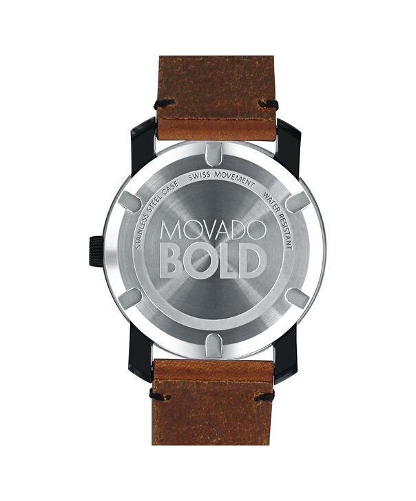 MOVADO Movado BOLD3600442 – 42mm Colorado leather strap watch - Back view