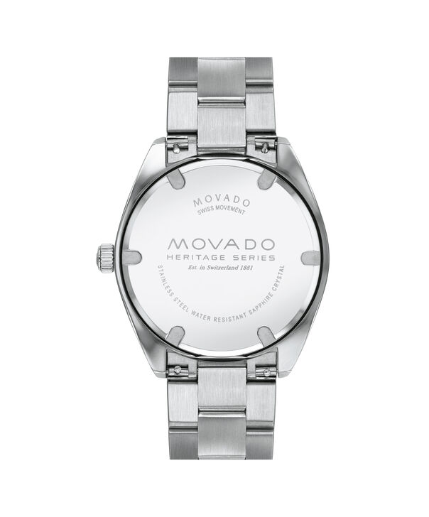 MOVADO Movado Heritage Series3650056 – Men's 39 mm bracelet watch - Back view