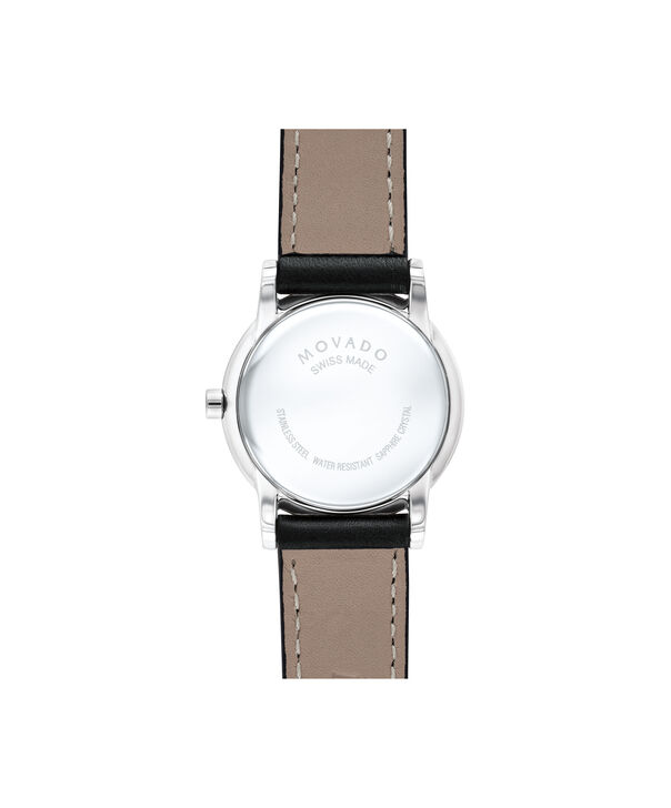 MOVADO Museum Classic0607274 – Women's 28 mm strap watch - Back view