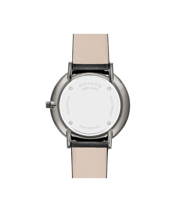 MOVADO Modern 470607340 – NHG 35 mm sur bracelet texturé - Back view