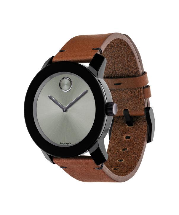 MOVADO Movado BOLD3600442 – 42mm Colorado leather strap watch - Side view
