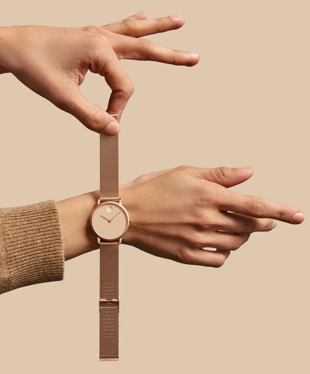 MOVADO Movado Face3640016 – Women's 35 mm bracelet watch - Back view