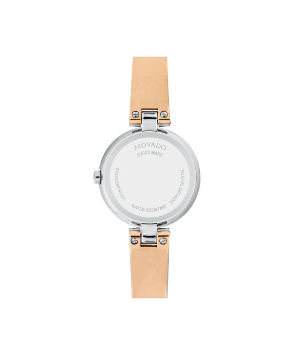 MOVADO Aleena0607152 – Montre à bracelet-jonc de 27 mm pour femmes - Back view