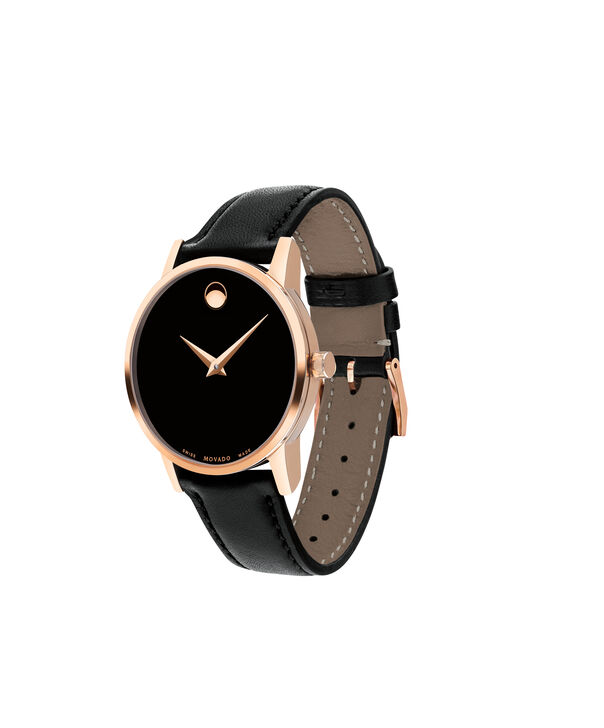 MOVADO Museum Classic0607276 – Women's 28 mm strap watch - Side view