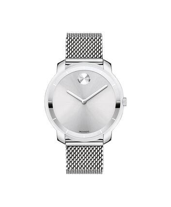 MOVADO Movado BOLD3600241 – Montre à cadran plat de 36 mm et bracelet en mailles - Front view