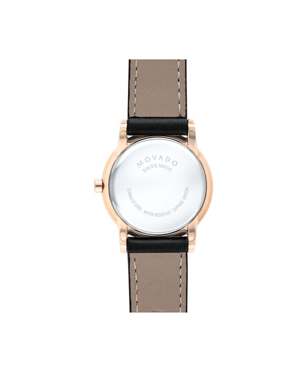 MOVADO Museum Classic0607276 – Women's 28 mm strap watch - Back view