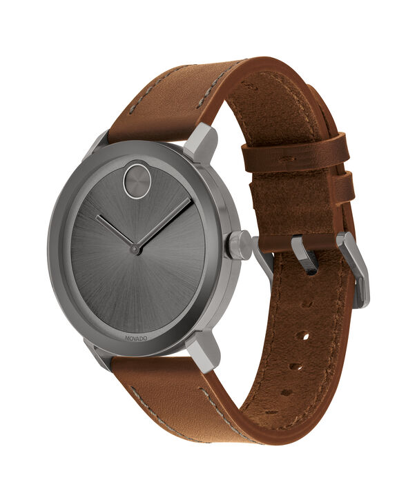 MOVADO Movado BOLD3600506 – Men's 40 mm strap watch - Side view