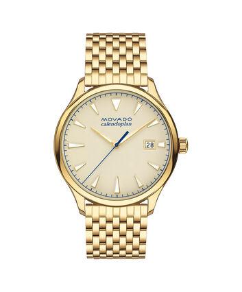 MOVADO Movado Heritage Series3650013 – Montre-bracelet à cadran de 40 mm pour hommes - Front view