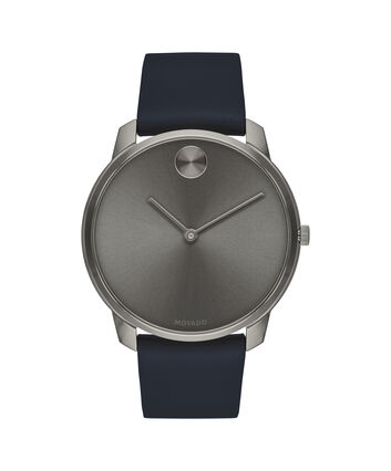 MOVADO Movado Bold3600586 – BOLD 42mm mince, cuir - Front view
