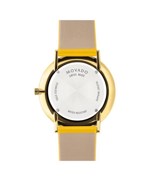 MOVADO Modern 470607255 – Movado.com EXCLUSIVE montre à bracelet souple - Back view