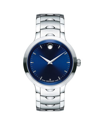 MOVADO Luno0607042 – Men's 40 mm bracelet watch - Front view