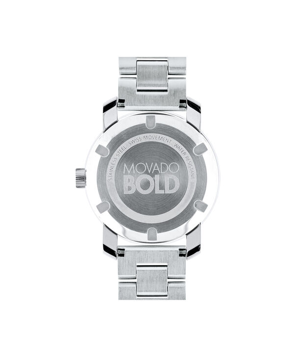 MOVADO Movado BOLD3600334 – Montre de 36 mm avec bracelet en métal - Back view