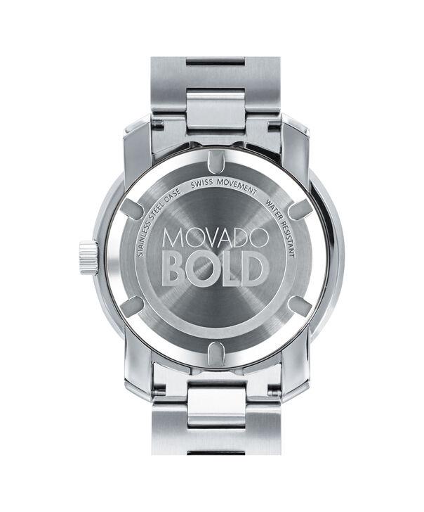 MOVADO Movado BOLD3600257 – 42.5 mm Metals bracelet watch - Back view