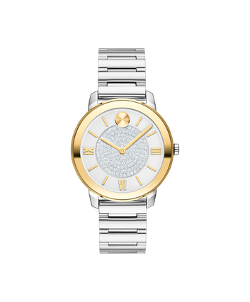 MOVADO MOVADO BOLD LUXE3600660 – 32mm Movado BOLD Luxe on Bracelet - Front view
