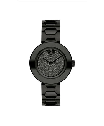 MOVADO Movado Bold3600576 – BOLD 32mm, maillons T, pavé - Front view