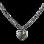 MOVADO Movado Heart Necklace1840029 – Movado Heart Black Necklace - Front view