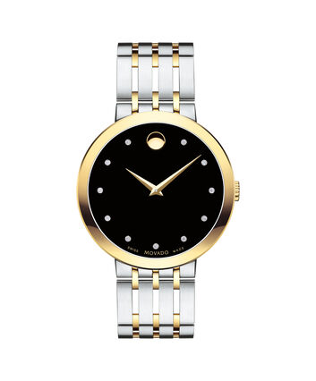 MOVADO Esperanza0607191 – Montre-bracelet à cadran de 39 mm pour hommes - Front view