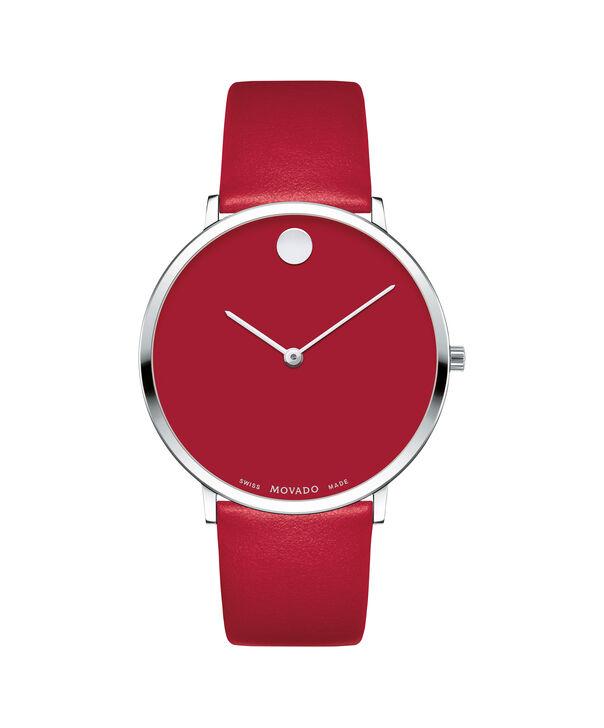MOVADO Modern 470607250 – Movado.com EXCLUSIVE montre à bracelet souple - Front view