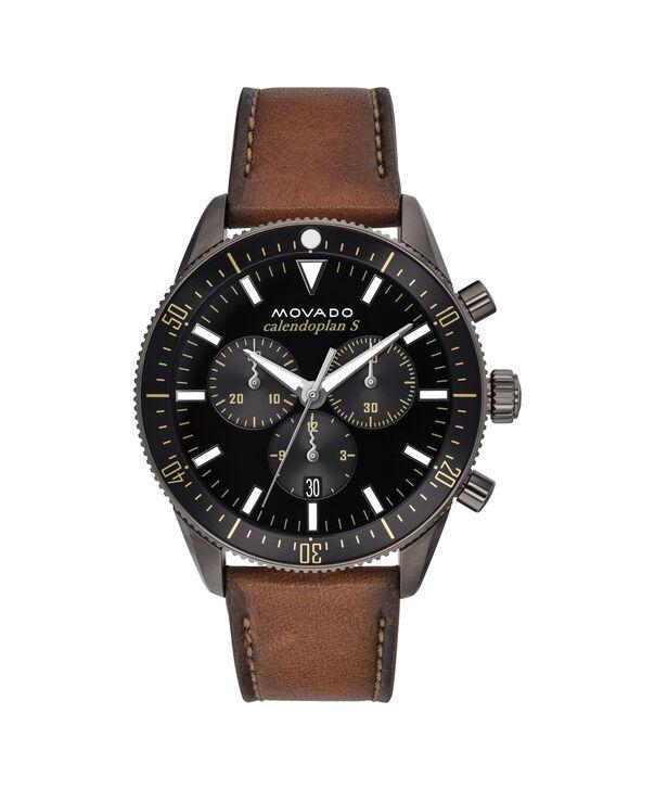 MOVADO Movado Heritage Series3650060 – Chronographe de 42 mm, avec bracelet souple - Front view
