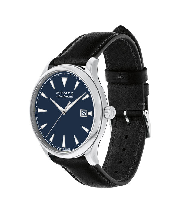 MOVADO Movado Heritage Series3650054 – Men's 40 mm strap watch - Side view