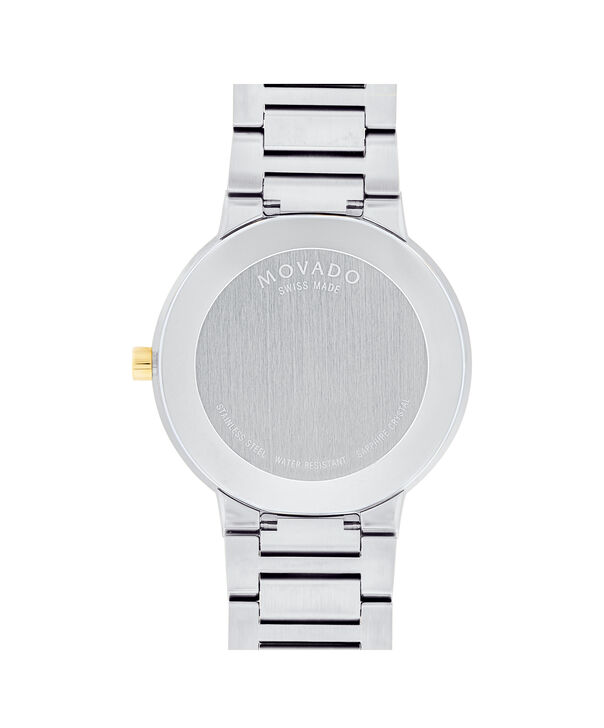 MOVADO Modern Classic0607120 – Men's 39.5 mm bracelet watch - Back view