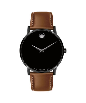 MOVADO Museum Classic0607273 – Men's 40 mm strap watch - Front view