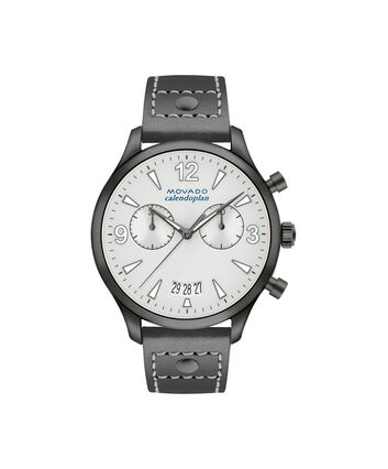 MOVADO Movado Heritage Series3650035 – Women's 38 mm strap chronograph - Front view