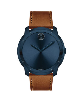 MOVADO Movado BOLD3600470 – Men's 44 mm strap watch - Front view