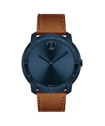 MOVADO Movado BOLD3600470 – Montre de 44 à bracelet souple pour hommes - Front view