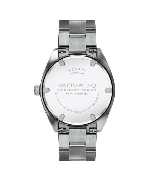 MOVADO Movado Heritage Series3650075 – Men's 39 mm bracelet watch - Back view