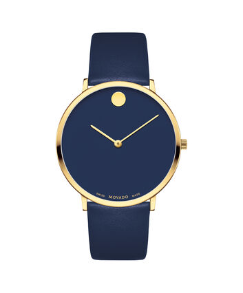 MOVADO Modern 470607259 – Movado.com EXCLUSIVE 40mm strap watch - Front view