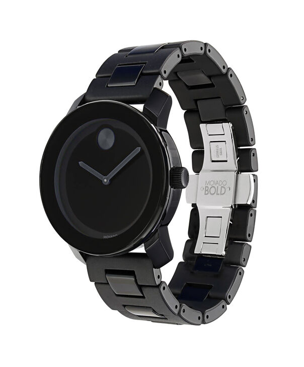 MOVADO Movado BOLD3600047 – 42 mm TR90 bracelet watch - Side view