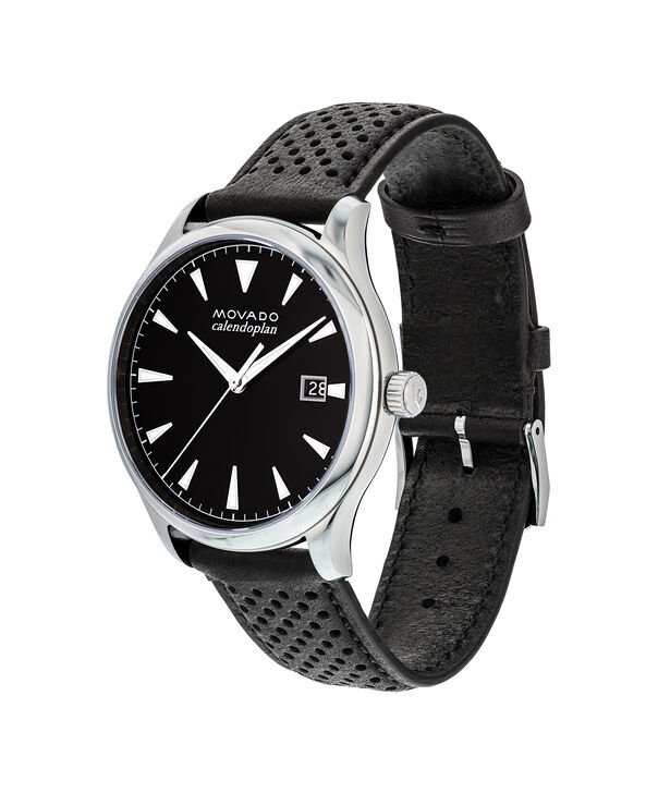 MOVADO Movado Heritage Series3650004 – Men's 40 mm strap watch - Side view