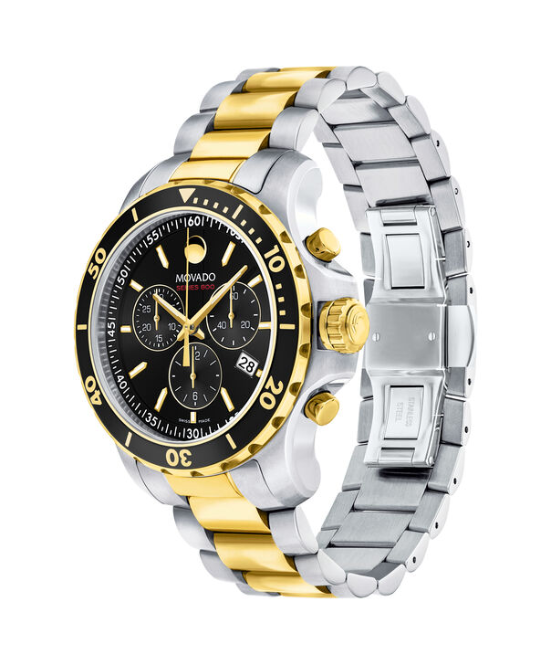MOVADO Series 8002600146 – Montre-bracelet à cadran de 40 mm pour hommes - Side view