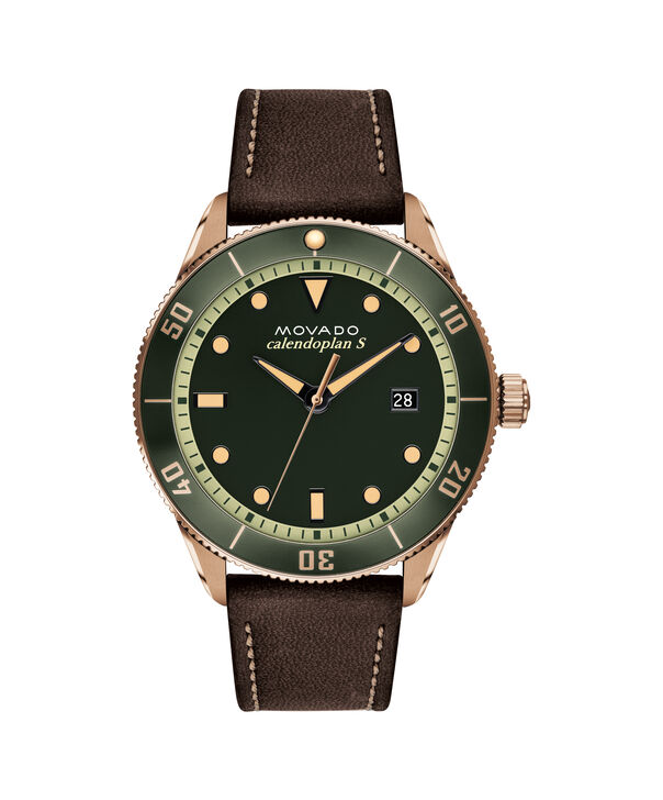 MOVADO Heritage Series3650092 – Calendoplan S Diver Heritage Series 43mm - Front view