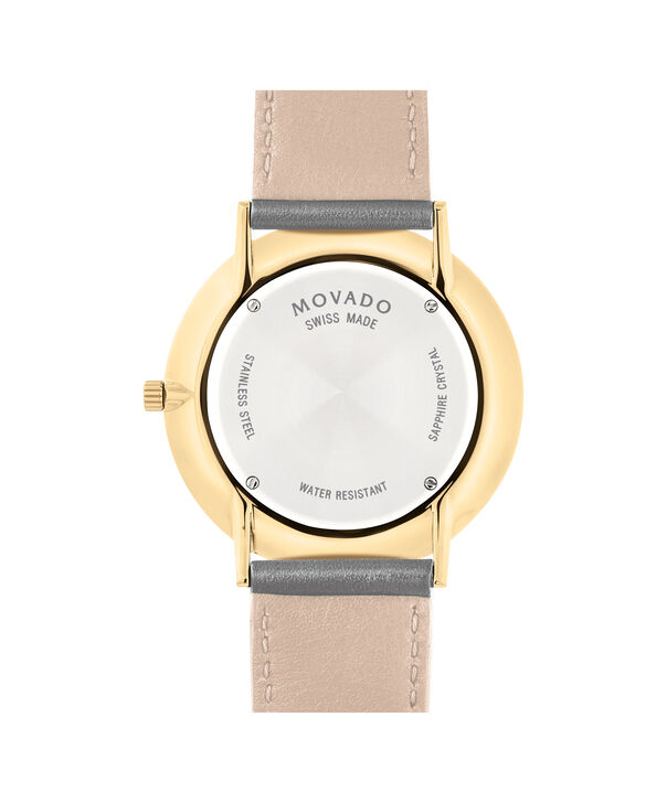 MOVADO Movado Ultra Slim0607376 – Movado Ultra Slim 40mm Leather Strap - Back view
