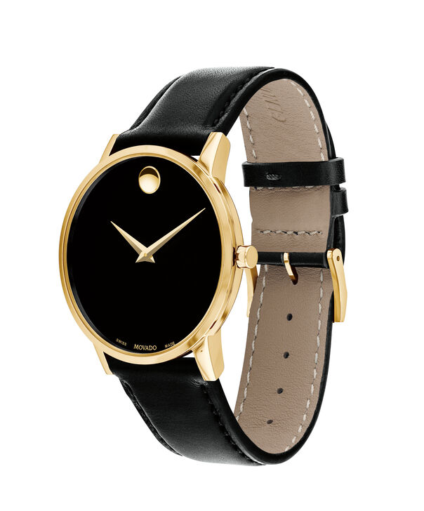 MOVADO Museum Classic0607271 – Men's 40 mm strap watch - Side view