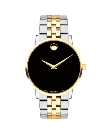 MOVADO Museum Classic0607200 – Men's 40 mm bracelet watch - Front view