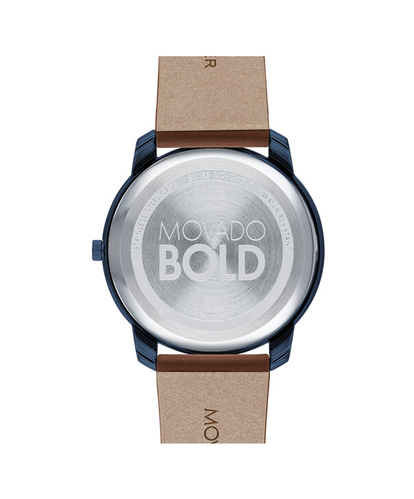 MOVADO Movado Bold3600585 – 42mm BOLD Thin on Strap - Back view